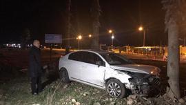 Milletvekili İbrahim Aydın trafik kazası geçirdi