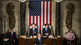 Trump ilk kez ABD Kongresine hitap etti