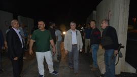 Sanatçı Serttaş'tan güvenlik güçlerine sürpriz gece ziyareti
