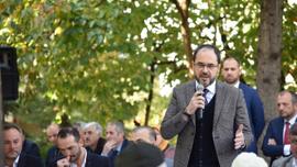 Başkan Ayaz'ın mahalle toplantıları devam ediyor