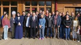 Başkan Gümrükçüoğlu, Belediye çalışanlarıyla bir araya geldi