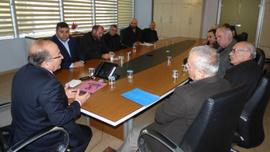 Başkan Gümrükçüoğlu, imar uygulaması yapılan mahallelerin sakinlerinin taleplerini dinledi