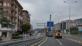 Alanya Çevre Yolu trafiğe açıldı