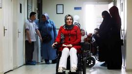 Azmi ile engellilere örnek oldu