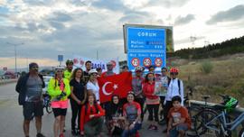 """""""Türk Kadınının Zaferi Bisiklet Turu Projesi"""""""