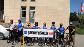 """""""Türk Kadınının Zaferi Bisiklet Turu"""" projesi"""