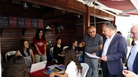 Üniversite adayları, Yeni Havalimanı'nı iş imkanı olarak görüyor