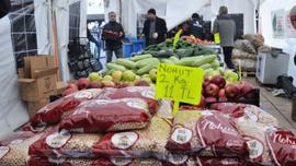 Tanzim'de bir günde 33 ton bakliyat satıldı