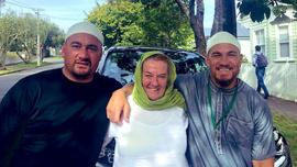 Bill Williams'ın annesi ve arkadaşı Müslüman oldu