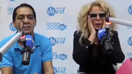 Kur'an okuyan kadın Lady Gaga değil