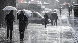 Meteoroloji'den ülke geneli için sağanak yağış uyarısı