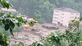 Trabzon Araklı'da sel felaketi: Bir kişi öldü, çok sayıda hasar var