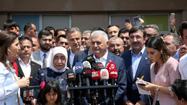 Yıldırım: İstanbullu'nun kararı başımızın üstüne