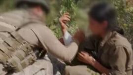 Mehmetçik yaralı teröriste böyle yardım etti