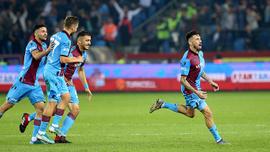 Trabzonspor, Beşiktaş'ı 4-1 yendi