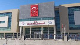 Erciş belediyesinde terör operasyonu