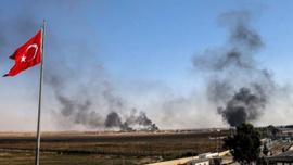 Tel Abyad'daki terör hedefleri vuruluyor