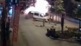 Adana'daki bombalı saldırının yeni görüntüleri ortaya çıktı