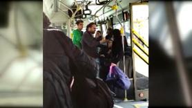 Otobüs şoförü 10 yaşındaki çocuğa bağırdı