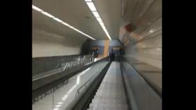 Metro bakımsızlıktan sos vermeye başladı