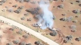 Türk zırhlısı Rus üretimi Esed tankını kovaladı