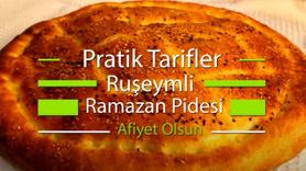 Evde Ramazan pidesi yapımı tarifi