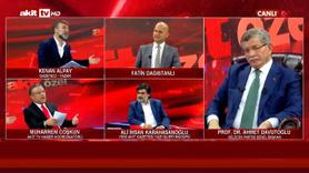 Davutoğlu Akit TV'ye konuk oldu