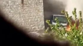 Teröristler saldırıyı kameraya kaydetmiş