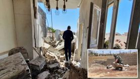 Hafter milislerinin kurduğu bombalar görüntülendi