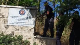 İsrail, Kudüs'teki Türkiye yazısını böyle söktü