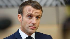 Macron'dan Erdoğan'a karşı küstah sözler
