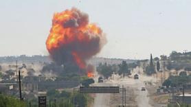 Türk-Rus konvoyunun geçişi sırasında patlama