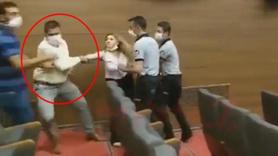 CHP'li başkan kadın gazeteciyi darp ettirdi