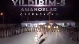 Jandarmadan Yıldırım-5 Operasyonu videosu
