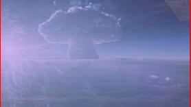 Dünyanın en büyük nükleer patlaması görüntüleri