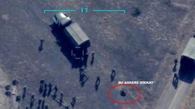 Karabağ'daki işgal askerleri böyle vuruldu