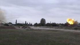 Azerbaycan'dan sert misilleme, işte ilk görüntüler