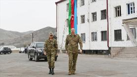 İlham Aliyev Dağlık Karabağ'da