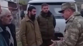 Azeri askerinden insanlık dersi