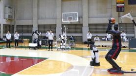 Japonlar'dan NBA oyuncularına rakip robot