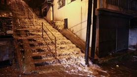 İzmir'de sel baskınları