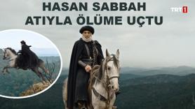 Haşhaşi Lideri Hasan Sabbah atıyla ölüme uçtu