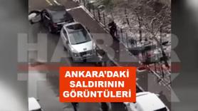 Ankara'daki saldırının görüntüleri
