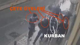Kavga çıkarıp hırsızlık yapan çete kamerada