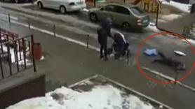 Yedinci kattan bebeğin üzerine düştü ikisi de öldü