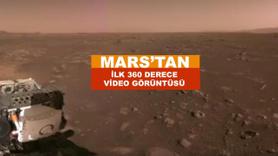 Mars'tan ilk video görüntüsü de geldi