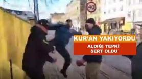 Kur'an-ı Kerim yakan İslam düşmanına sert tepki