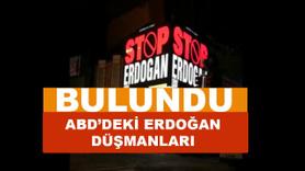 ABD'deki Erdoğan düşmanları bulundu