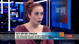 Siriyi seslendiren kadın sesinin sahibi
