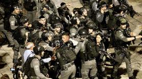 İşgalciler dün akşam da Kudüs'te müdahale etti